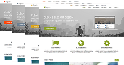 Repute Business Theme
